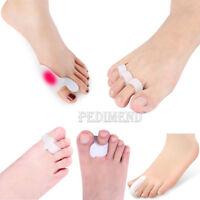 PEDIMEND Silicone Gel Toe Straighteners - Bunion Toe Corrector - Foot Care - UK