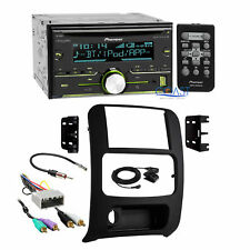 Pioneer USB Bluetooth Stereo 2Din Dash Kit Amp Harness for 2002-07 Jeep Liberty