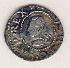 Cincin19,Muy Escaso Croat CARLOS II,1675,Barcino,1,72gr,Carvl II