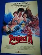 Jackie Chan 'Project A' International Artwork Poster