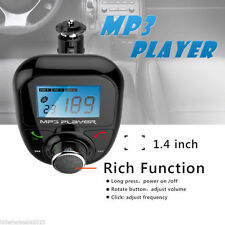 Bluetooth FM Transmitter Steering Wheel Handsfree LCD Car Kit MP3 Player USB Aux