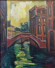 Isis Kischka (1908-1973) huile/toile Venise ?