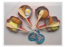 Children's Frying Pans Play Food Pretend Kitchen Utensils Cooking Role Play Toys