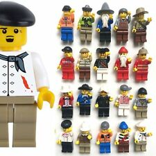 20pcs/Set Random Mini Figures Men People Professional Role Minifigures Kids Toy