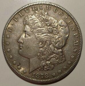 Monnaie Argent One Dollar U.S.A Morgan 1878 S, MS