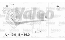 VALEO Alternador 80A Para CITROEN SAXO 437185