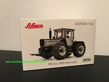SCHUCO 1:32 SCALE MERCEDES BENZ MB TRAC 1800 BLACK AND SILVER LIMITED EDITION