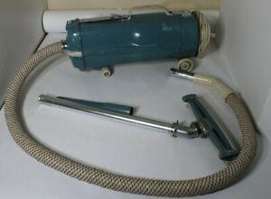 Electrolux Vintage Canister 60's Vacuum Cleaner Model Lw/Original Hose - WORKS