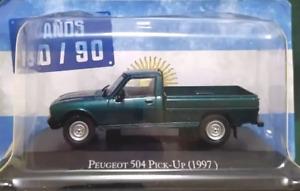 Coche Peugeot 504 Pick Up (1997) - Autos Inolvidables (1/43)