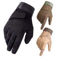 Tactical Military Gloves Mens Combat Army CS Airsoft Hunting Driving Patrol Work