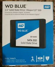 NEW!! WD Blue 1TB 3D NAND SATA III 2.5 in. Internal SSD WDBNCE0010PNC FREE SHIP!