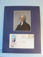 President Thomas Jefferson & the First day Cover of his American Credo stamp