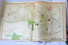 New listing Wakefield,Ma 1889 Original Ward Map,Antique Street Map, Main,Nahant,Crescent