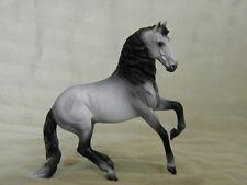Breyer Alborozo SM Mini CM/Custom Dappled Faded Gray Horse Statue OOAK