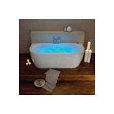 Supercast Trojan Decadence Twin Ended Whirlpool Jacuzzi Spa Bath Chromotherapy