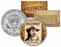 BUFFALO BILL * Wild West Series * JFK Kennedy Half Dollar U.S. Coin