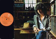 COLIN BLUNSTONE Never Even Thought LP +Insert BILL SCHNEE Epic UK EPC82835 A2/B2