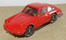 MICRO WIKING HO 1/87 PORSCHE 911 C COUPE ROUGE