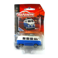 Majorette 212052010 VW T1 Bus mit Surfbrett blau/weiss - Vintage 1:64 NEU!°