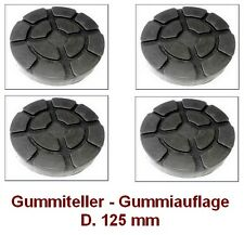 Gummiteller für Hebebühne D. 125 mm - Gummiauflagen - Auflageteller RAVAGLIOLI