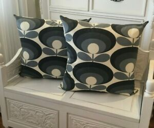HANDMADE cushion cover Use Orla Kiely 70S  Fabric