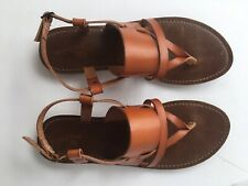 Women's Universal Thread, Sonora Toe Thong Sandals, Cognac, Size 10, NEW!