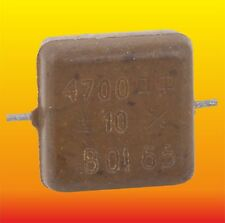 4700 pF 500V 10% LOT OF 15 RUSSIAN MILITARY SILVER-MICA CAPACITORS KSO-5W КСО-5В