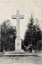 CPA forét Fontainebleau - the cross of calvary (249010)