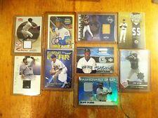 New York Mets baseball card lot Jose Reyes Cleon Jones Game worn auto L@@K