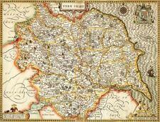 More details for yorkshire historical framed map (1610)