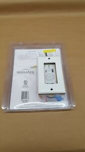 MinkaAire Wall Control for MinkaAire Fan, Select Models, WC400