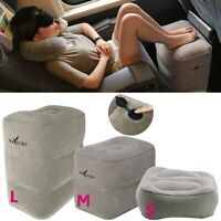Inflatable Travel Footrest Pillow Foot Leg Rest Travel Pillow for Airplane Car