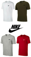 Nike Mens Core Embroidered Futura Club Crew T-Shirt Casual - FREE DELIVERY