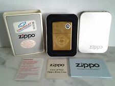 Vintage Zippo Brass Genuine Chevrolet Lighter 1997 ( E  XIII ) NOS, NIP