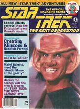Star Trek The Next Generation #2 Official Magazine (1987) Fine