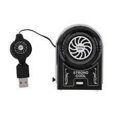 Mini Vacuum USB Cooler Air Extracting Cooling Fan Pad for Notebook Laptop FE