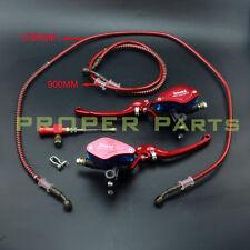 Motorcycle Lever Brake Master Cylinder Clutch Hydraulic 22mm Adjust Brake Lever