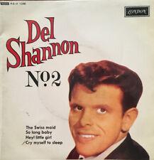 """Del Shannon No 2 - 4 Track 7"""" E.P"""