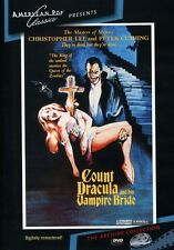 Count Dracula and His Vampire Bride (2012, DVD NIEUW) DVD-R