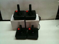 4 FOUR NEW RED BUTTON ATARI 2600 JOYSTICK CONTROLLERS