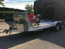 18' 2014 FEATHERLITE ALL ALUMINUM MODEL 3100 OPEN CAR HAULER