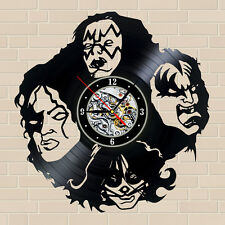 """Kiss_For the Horde_12"""" (30cm) Wall Clock Made Of Vinyl Record"""