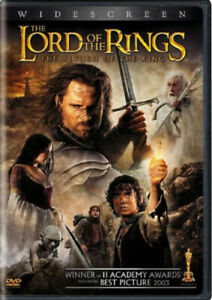 The Lord of the Rings: The Return of the King (2 DVD SET, WS) NEW