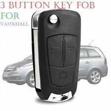 3 Button Remote Flip Key Fob Case For Vauxhall Opel Corsa Astra Vectra Zafira