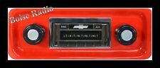 1967-1972 Chevy Pickup Truck AM FM Stereo Radio USA-230 200 watts auxiliary in