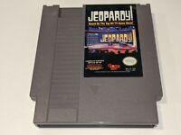 JEOPARDY Original Nintendo NES Video Game Cartridge 80s TV Trivia/Quiz Game Show