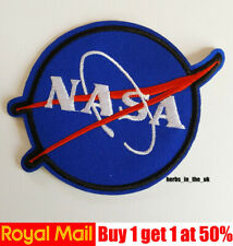 NASA USA Logo Space Patch Iron On / Sew On Patch Badge