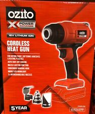 Heat Gun Ozito PXC 18V Cordless - Skin Only 3 x Interchangeable nozzles included