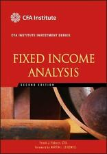 Introduction To Fixed Income Analytics - Frank J Fabozzi
