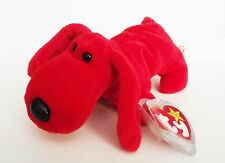 TY BEANIE BABY ROVER DOG PVC 6TH GEN HANG TAG & TUSH TAG 3 ERRORS RETIRED NEW